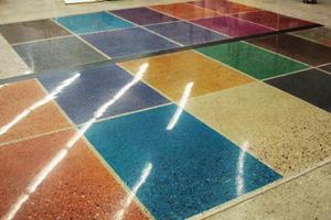 цветовая палитра полированного бетона