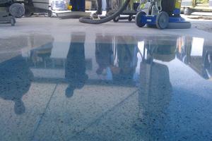 износостойкое покрытие полированного бетона